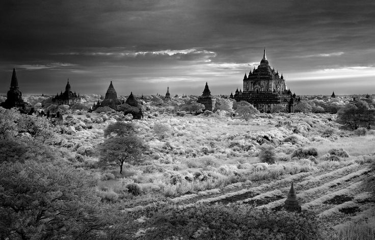 Burma by infrared