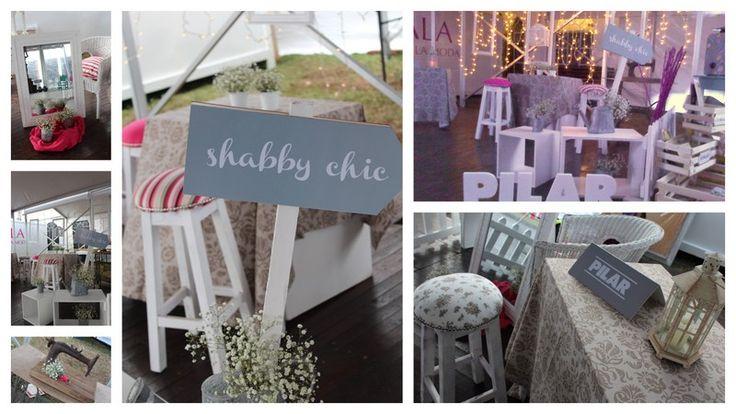 espacio Shabby Chic para el picnic del cierre del PAM 2013, diseñado para PILAR