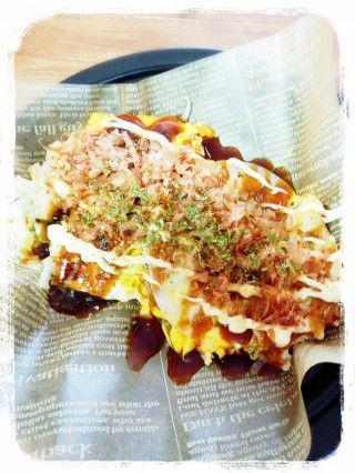 餃子の皮で簡単に作れる広島風お好み焼き! - 暮らしニスタ