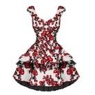 Vintage stil retro klänning Xs till XXL