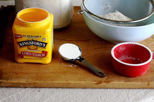 How to turn all purpose flour into cake flour.  Good to know! :)