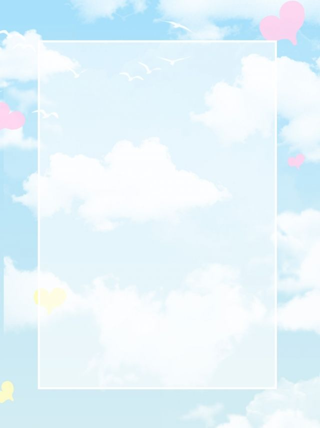 Lovely Blue Sky White Clouds Background Blue Background Images Blue Sky Background Clouds