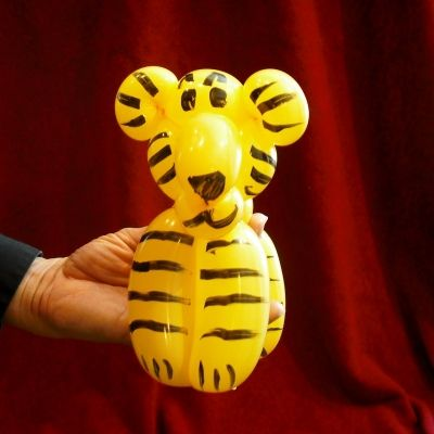 How to Make a Tiger Balloon Animal                                                                                                                                                                                 More