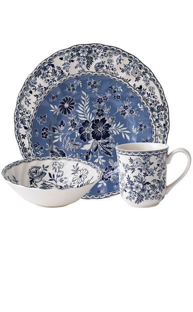 Johnson Brothers China Devon Cottage - 4-pc Place Setting