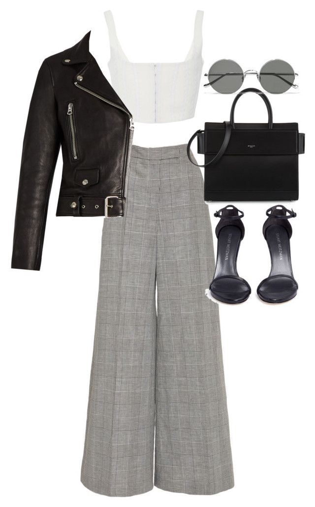 """""""Untitled #21916"""" by florencia95 ❤ liked on Polyvore featuring Antonio Berardi, Givenchy, Acne Studios, Stuart Weitzman and Sunday Somewhere"""