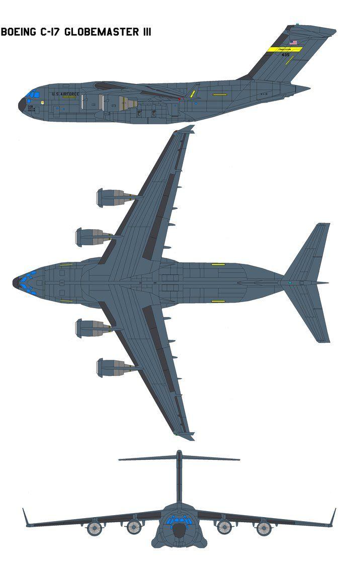 Boeing C-17 Globemaster III by bagera3005