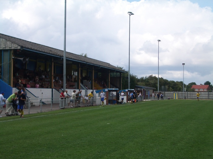 Gosport Borough Football Club. Privett Park, Gosport, England