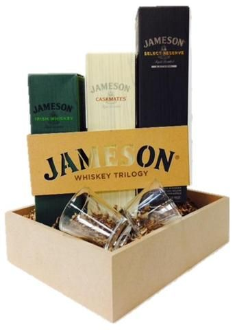 Jameson Irish Whiskey Gift Basket