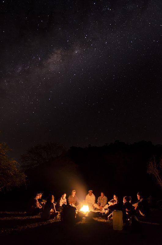 Milky Way as a backdrop