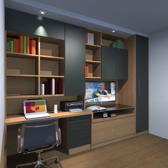 Estante/hometheater - estudo - São Paulo - Brasil - F/A design e arquitetura- Contato para Projetos e Gerenciamento de obras - 11- 26096733 - 985556354