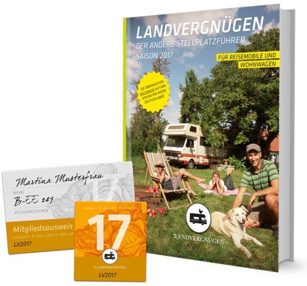 LANDVERGNÜGEN Reise- und Campingführer 2017 / 18