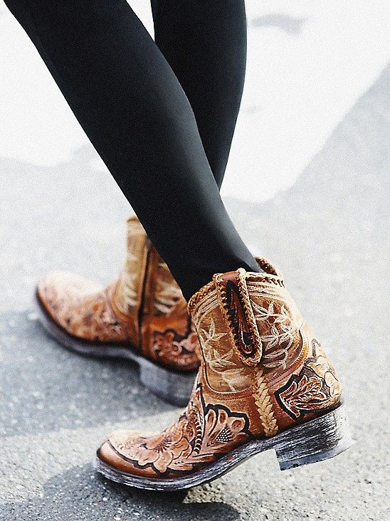 Western boot!