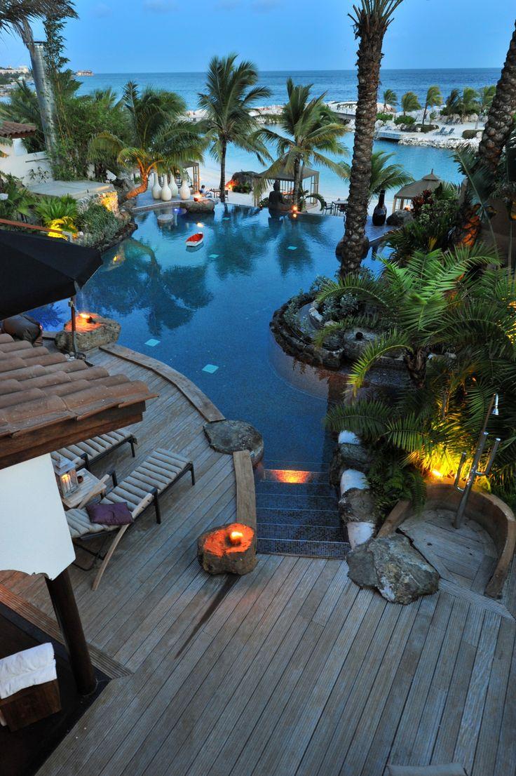 Baoase luxury resort curaçao master villa view of ocean