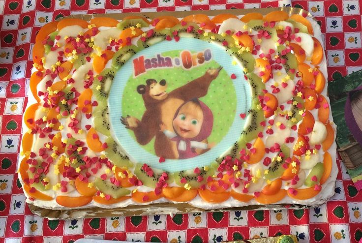 Torta Masha e Orso by Miky