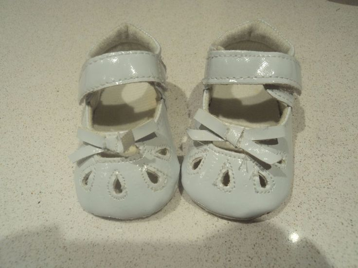 infant 0-3 months tiny baby shoes white with velcro strap in Baby, Clothes, Shoes & Accessories, Shoes | eBay