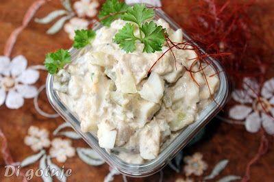 Di gotuje: Sałatka z makrelą w oleju