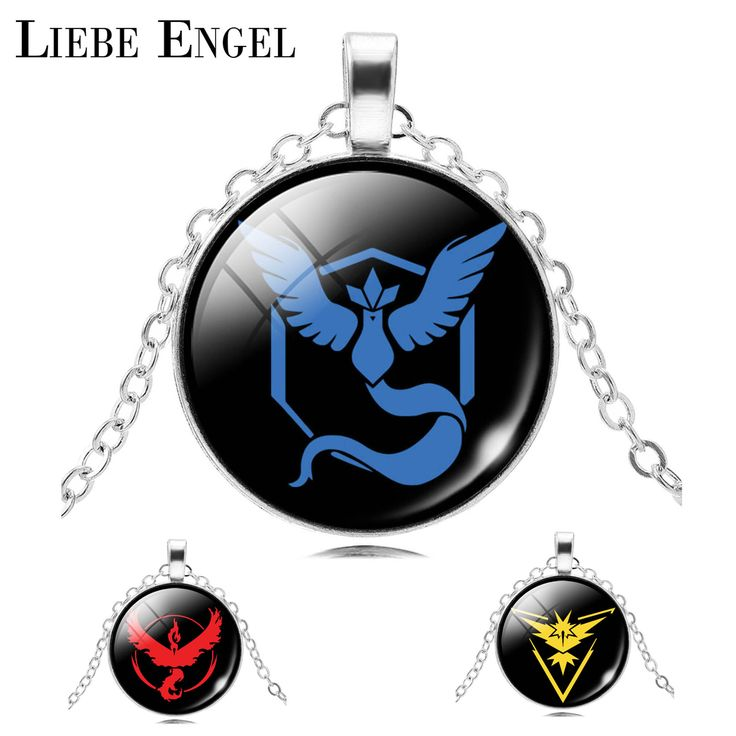 LIEBE ENGEL 2017 Charm Vintage Silver Chain Necklace Pokemon Game Anime Pendant Necklace Fashion Jewelry Unisex Gift Pokeball