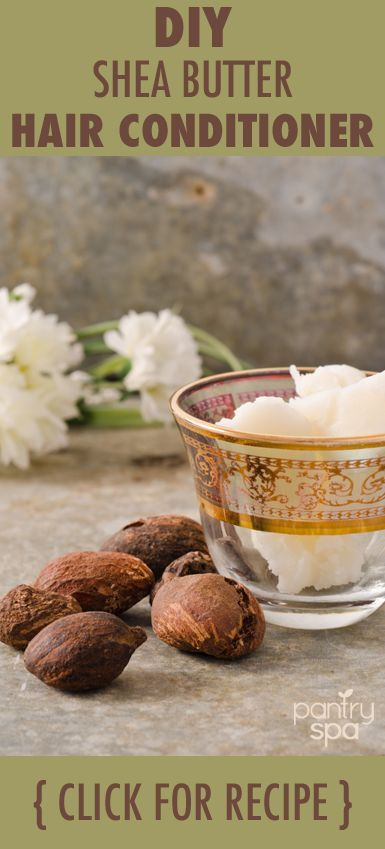 Making your own hair conditioner is easy. All it takes is shea butter, essential oils and some time. Check out these shea butter conditioner recipes.