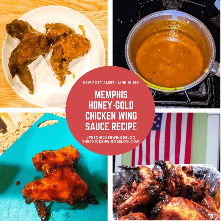 Memphis Honey-Gold Chicken Wing Sauce