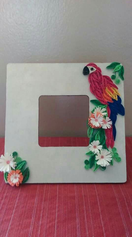 The 1494 best Quilling Picture Frames images on Pinterest | Paper ...