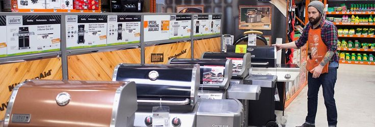 Walk into any Home Depot at this time of year, and you'll see rows of gas grills lined up | TheSeniorList.com