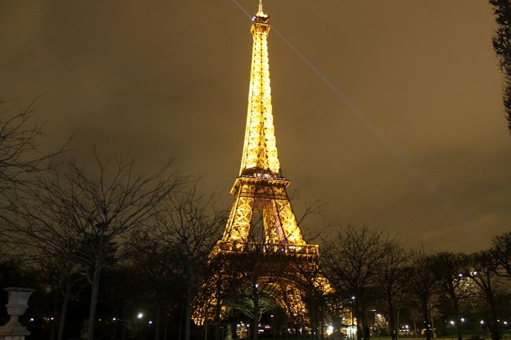 Extreme sightseeing in Paris, France: The Eiffel Tower