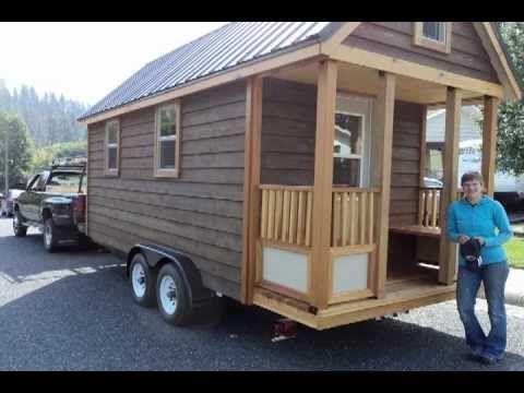Tiny House on a Trailer Construction Time Lapse Video..  http://tinyhousetalk.com/tiny-house-on-a-trailer-construction-time-lapse/