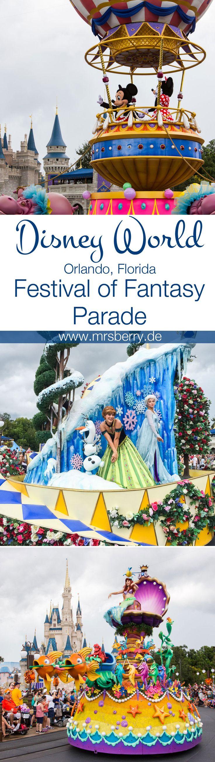 ❤️ Disney's Festival of Fantasy Parade, Disney World, Magic Kingdom, Orlando, Florida ❤️