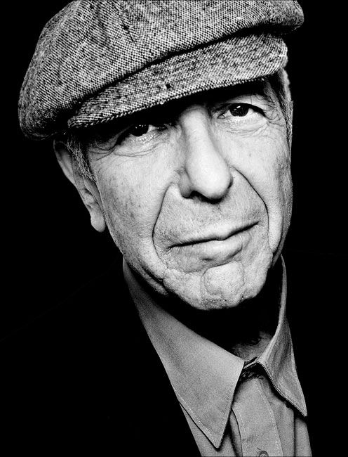 Leonard Cohen (born 21 September 1934-) - Canadian singer-songwriter, musician, poet, and novelist