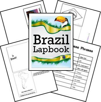 FREE Brazil Lapbook