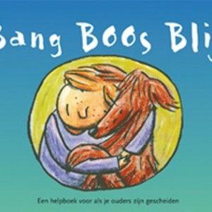 Bang Boos Blij is een boek over wat er is gebeurd bij de echtscheiding en daarna. Kinderen kunnen in het boek tekenen en schrijven om alle di...