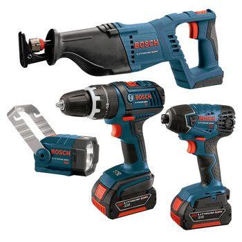 A complete 18V Bosch Tool set!