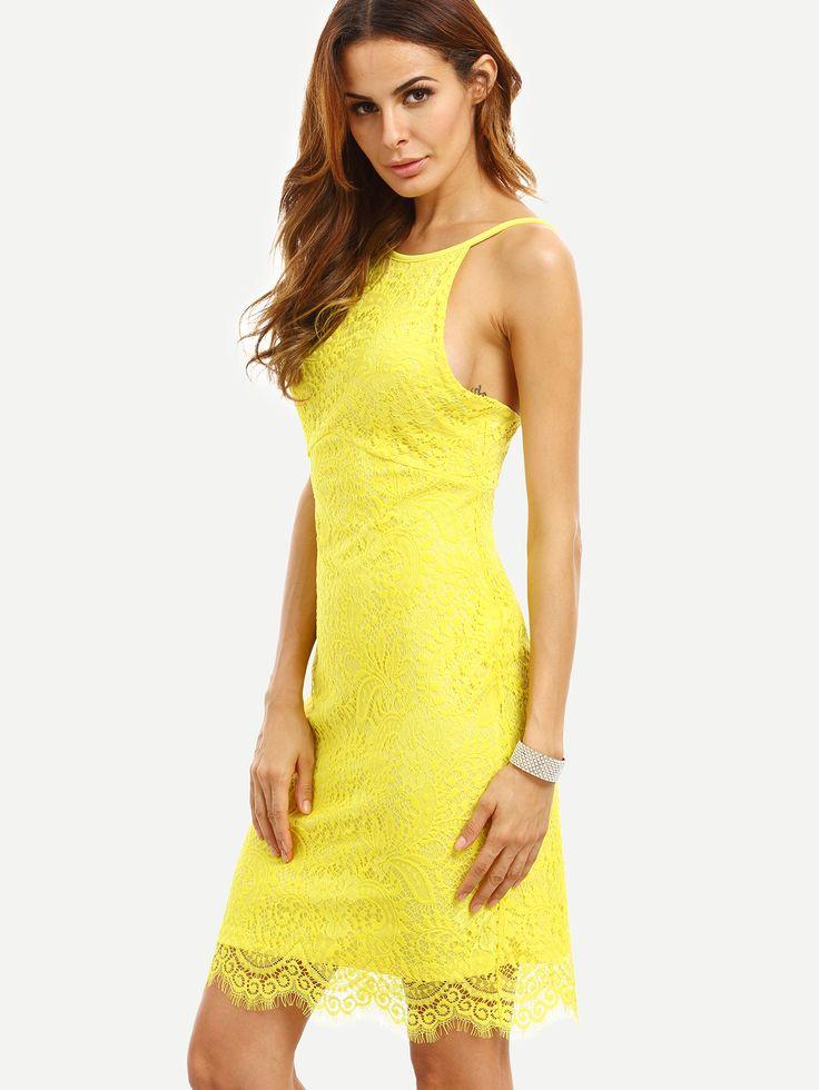yellow dress 18 round pool