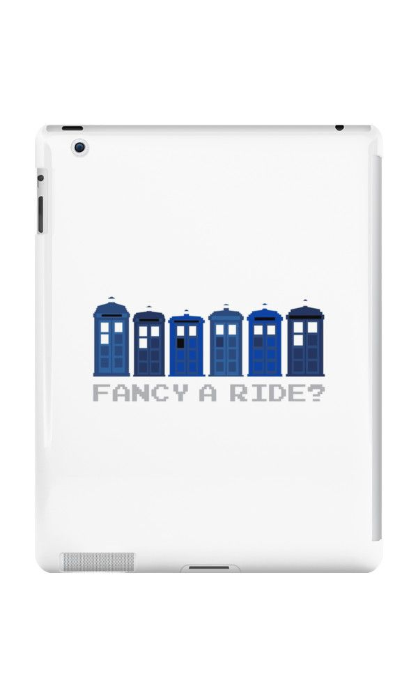 Fancy a ride? by nath-gary #iPad #DoctorWho #TARDIS #TheDoctor #Whovian #Whovians #Clothes #Geek #Nerd #Brithish #SciFi