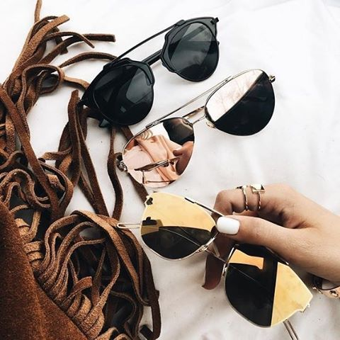These shades are ready for Summer. // Follow @ShopStyle on Instagram to shop this look