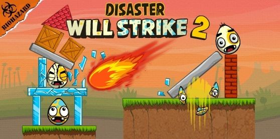 The power of destruction is in your hands! Create earthquakes, landslides, viruses and other crazy disasters to destroy all the eggs in each level.