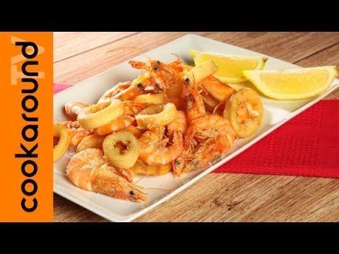 Frittura di gamberi e calamari perfetta / Tutorial - YouTube