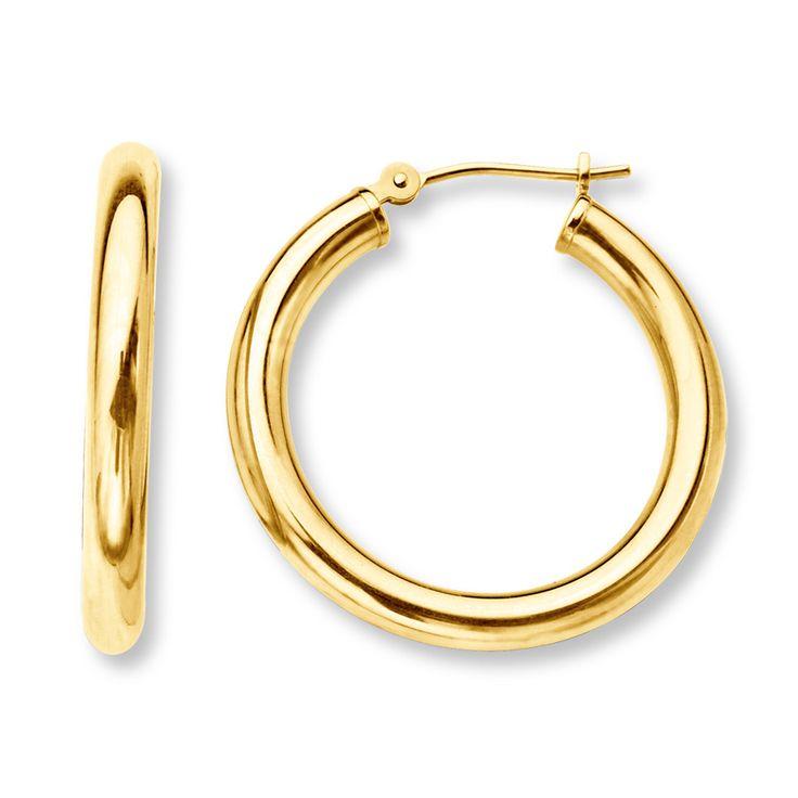 10 best Simple Gold Earrings images on Pinterest   Gold earrings ...
