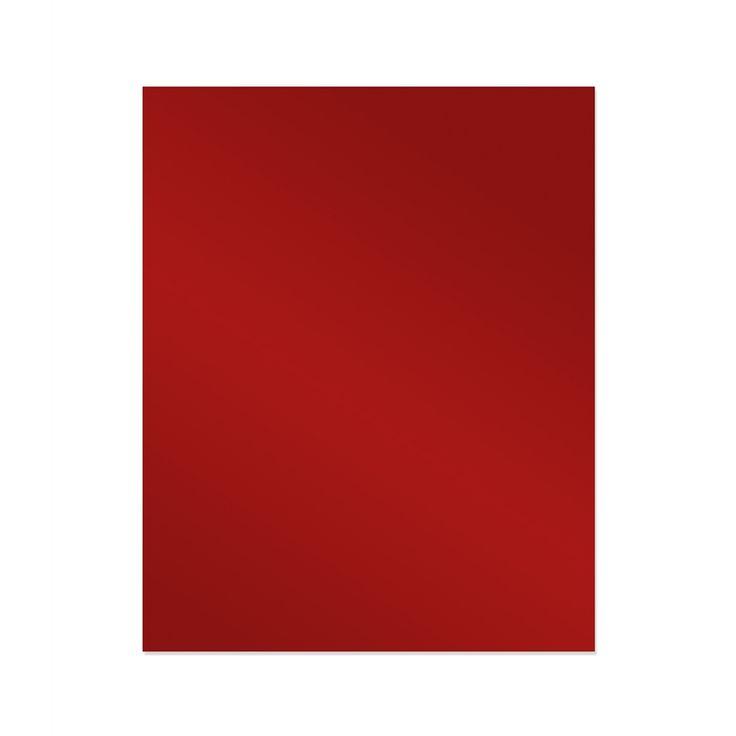 Stein  Red Splashback Glass 600x750