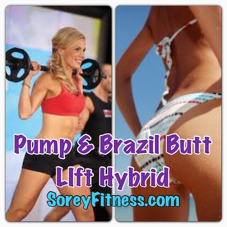 Les Mills PUMP Brazil Butt Lift Hybrid Calendar Workout Schedule