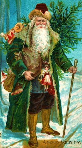 Father Christmas In England Pictures