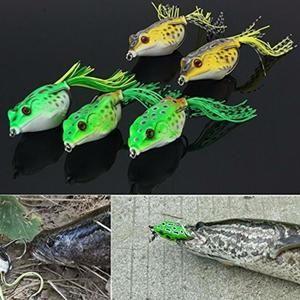Leurre De Pêche Mega-Deal 5pcs leurres de surface grenouilles frog
