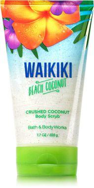 Waikiki Beach Coconut Crushed Coconut Body Scrub - Signature Collection - Bath & Body Works