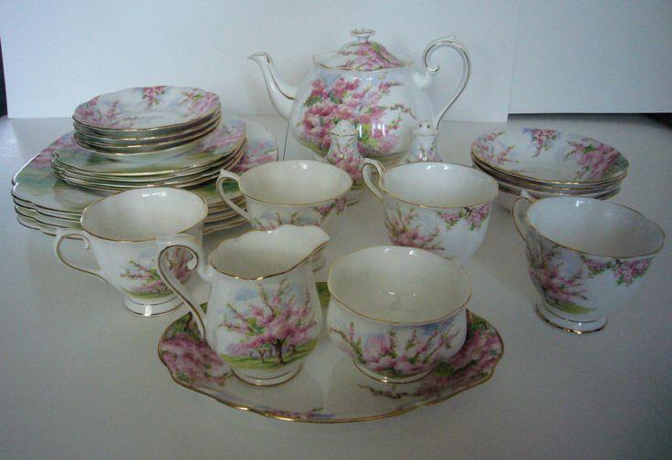 Royal Albert Blossom Time Tea Set Bone China