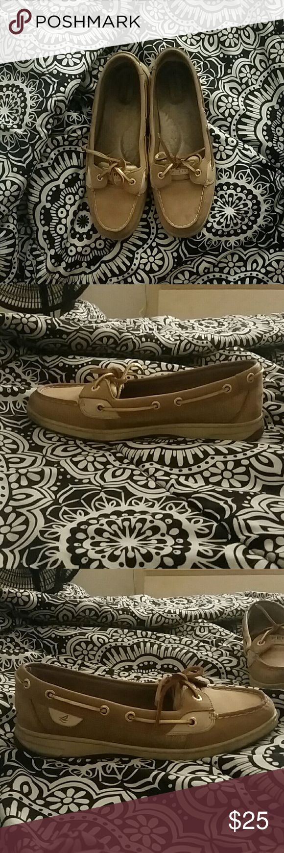 Sperry Angelfish Barely worn Sperry's. (Prices are negotiable) Sperry Top-Sider Shoes