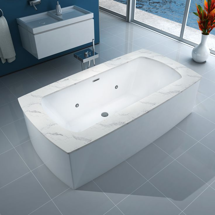 13 best 3 Wall Bathtubs images on Pinterest | Bathrooms, Bathtubs ...