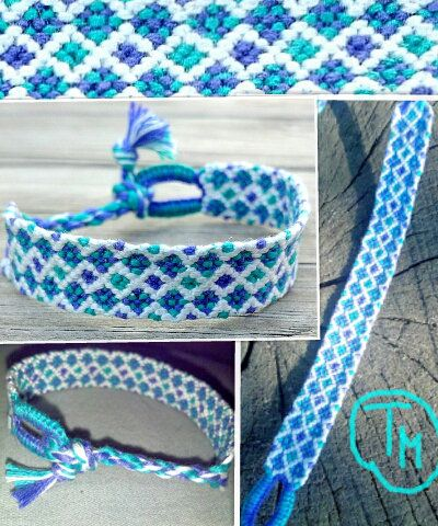 diy bracelet...not a great tutorial but I really want to learn how to make this one!!!
