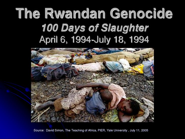 The Rwandan Genocide Perspectives on Modern World History