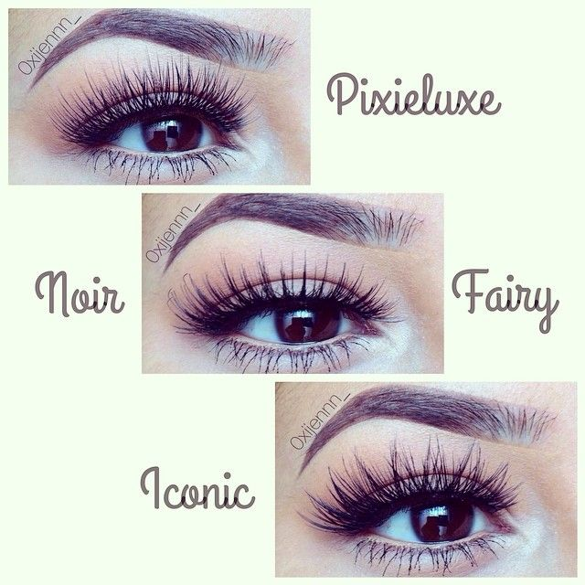 lash styles from @houseoflashes ! #pixieluxe #noirfairy #iconic