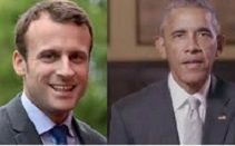 "Obama backs Macron: ""France matters to.. entire world."""
